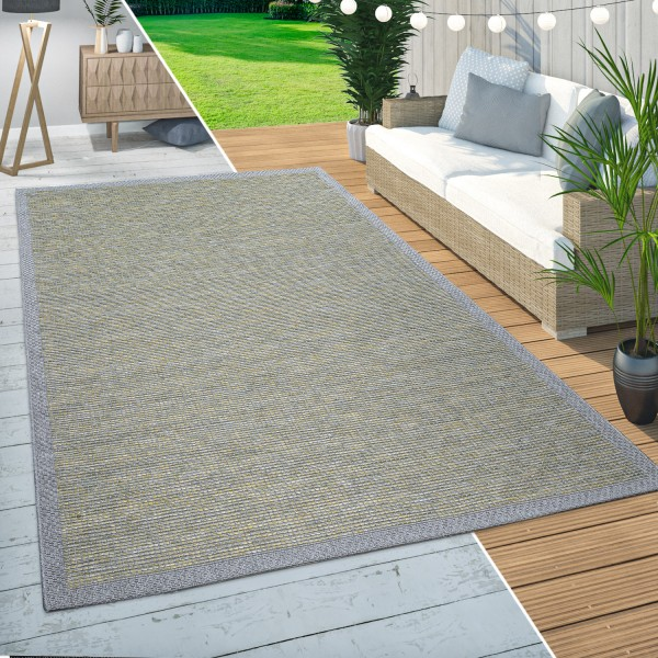 In-& Outdoor Teppich Balkon Bordüren Design