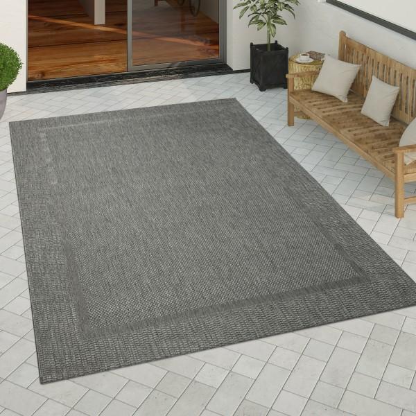 In-& Outdoor Teppich Küchenteppich Sisal Bordüre