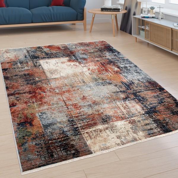 Teppich Wohnzimmer Industrial-Look